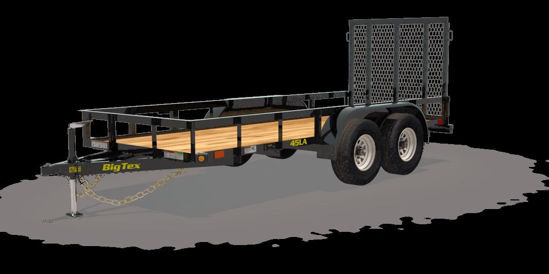 2019 big tex 45la tandem axle utility trailer  choate's